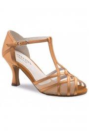 Anna Kern 6 cm Satin Bronze Femmes Chaussures de Danse 700-60