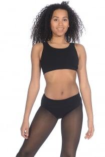 93670638ea5787 Crop top Twist pour femme danse Bloch