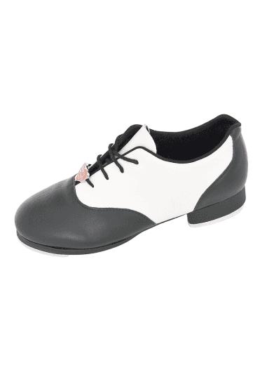 f67dde72635 Chloe   Maud Ladies  Tap Shoes · Noir Blanc · Bloch Chaussures de Claquettes  ...