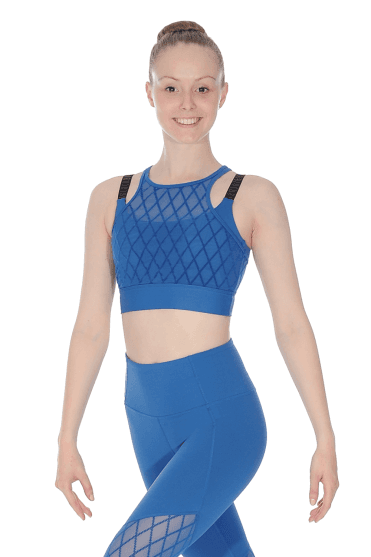 Crop Top Maille Losange BLOCH