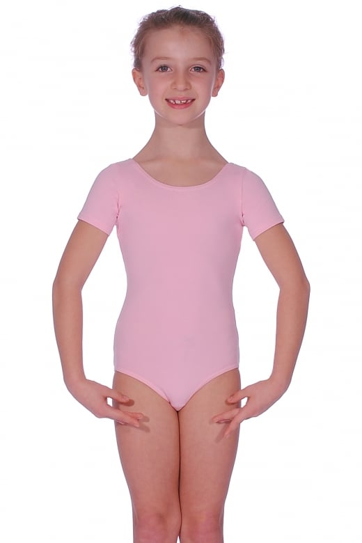 Dancewear Central Justaucorps a manches courtes en coton