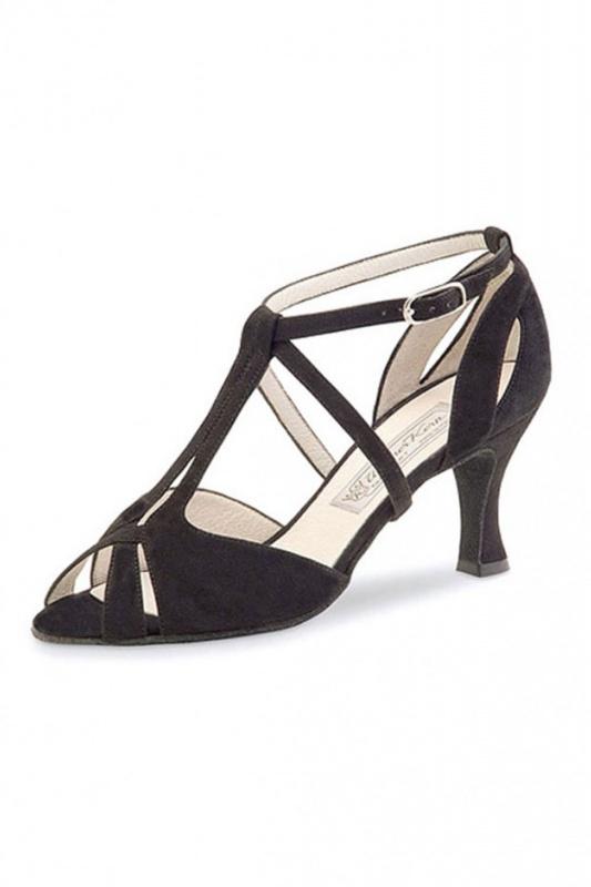 Chaussures de danse francis de werner kern en daim for Chaussures de danse de salon toulouse