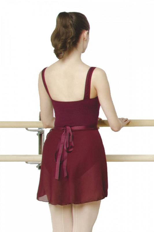 jupe de danse classique en georgette noire ou bordeaux forme portefeuille n272 par capezio. Black Bedroom Furniture Sets. Home Design Ideas