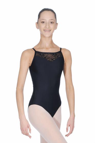 Aura camisole leotard. Noir · Powder Blush · Ballet Rosa Justaucorps Aura pour  filles ad6ac98f21e