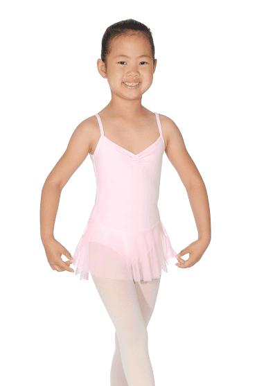 be58118444e Girls  Camisole Leotard With Skirt. Rose Pâle · Blanc · Grishko Justaucorps avec  jupe pour filles