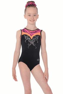 Lola Sleeveless Girls  Gymnastics Leotard Nouveau. The Zone Justaucorps de  gymnastique Lola sans manches 7a994e40422