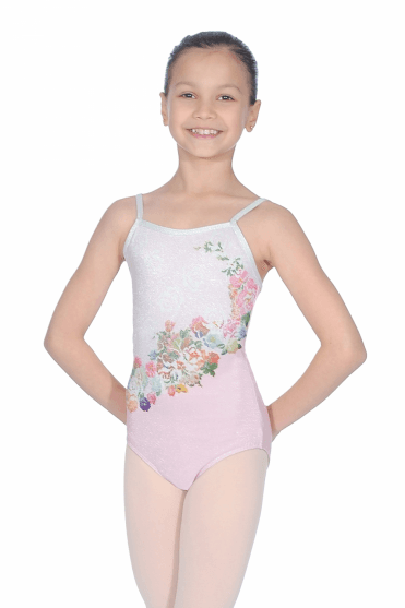 Girls Marlise Camisole Leotard · Rose · Noir · Ballet Rosa Justaucorps  Marlise pour filles 265c6c06196