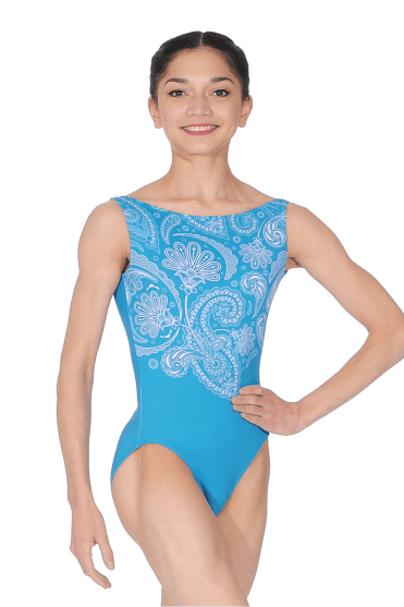 Salome tank leotard. Turquoise · Ballet Rosa Justaucorps ... 045d93ac35a