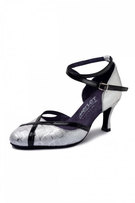 chaussure de danse en cuir nikole de chez merlet. Black Bedroom Furniture Sets. Home Design Ideas