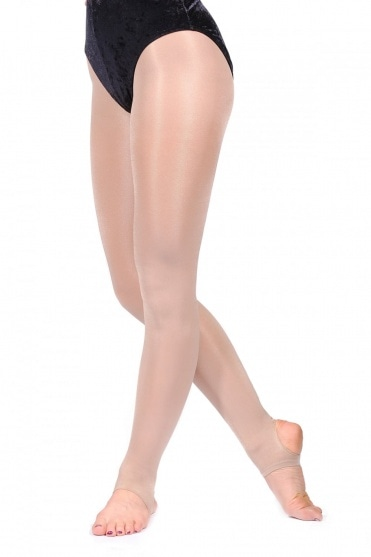 SHIMS Collants brillants avec bande de Silky