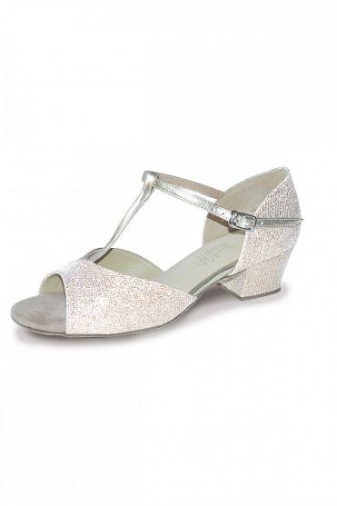 85b6412a1d08b Stacey Girls  Ballroom Shoes - Cuban Heel. Argent · Gold · Roch Valley  Stacey - Chaussures de danse fille - talon cubain