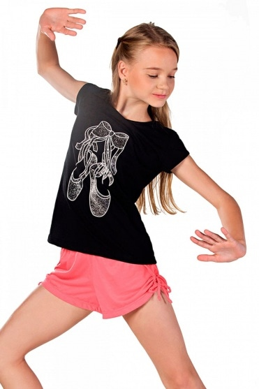 "T-shirt ""ballet shoes"" pour fille"